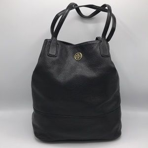 Authentic Tory Burch Pebbled Michelle Tote Bag